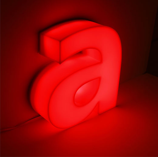 ACRYLIC CHANNEL LETTER | Full Acrylic Channel Letter Manufacturer | Acrylic Letter | ESMER REKLAM | Profile 6 | Turkey | Illuminated
